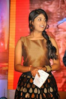 Actress Ulka Gupta Pictures at Andhrapori Audio Release Function 22