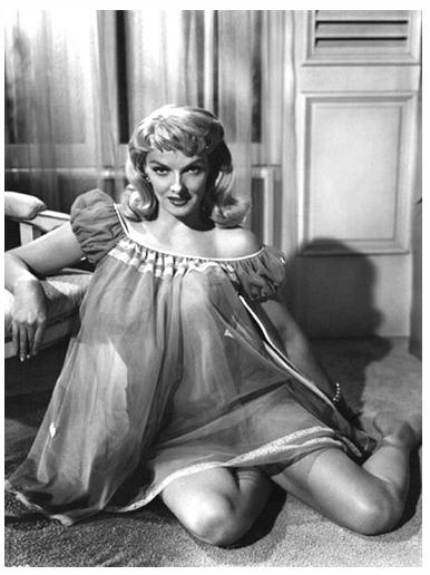 Vintage 1950 s blaue Filme