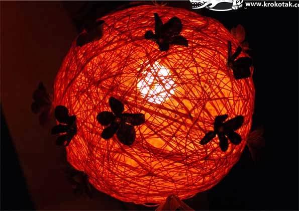 đèn ngủ tự chế lãng mạn