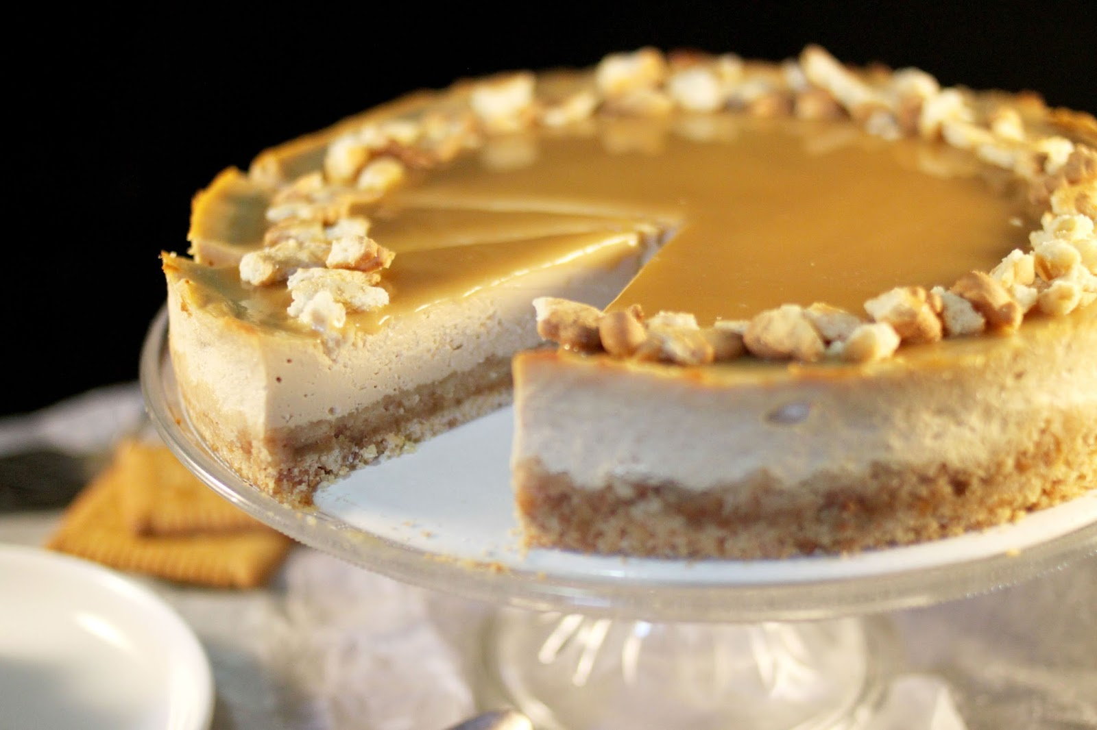 Chlo d lice cheesecake aux petits beurre caramel beurre sal - Recette caramel beurre sale breton ...