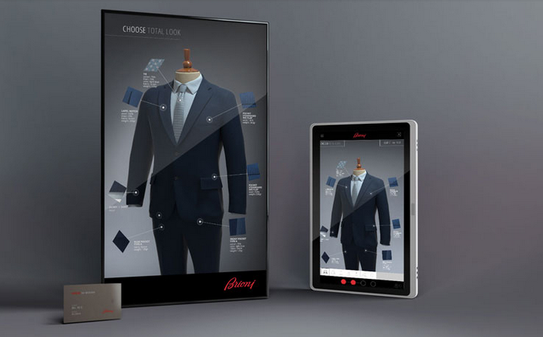 BRIONI VIRTUAL MIRROR