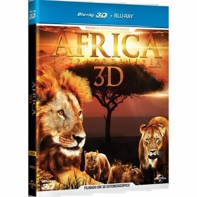 África Extraordinária BDRip XViD Dual Áudio preco de dvds filmes africa extraordinaria blu ray 3d 1768929 3