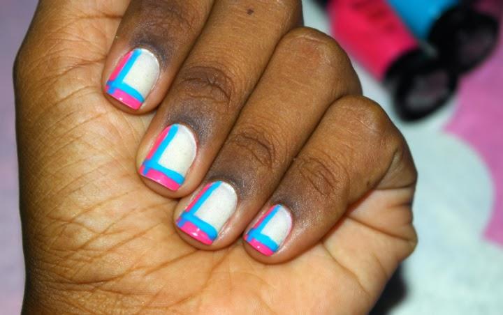 Unha-da-vez-esmaltes-realce-era-uma-vez-felizes-para-sempre-artistico-azul-rosa-unha-decorada-1