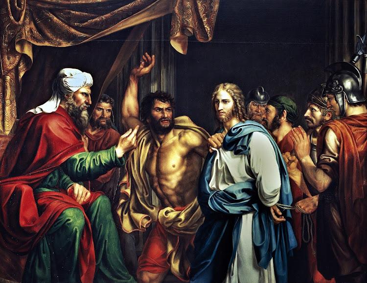 José de Madrazo y Agudo - Jesús en casa de Anás 1803