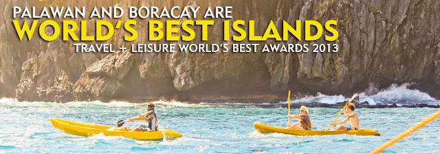 Palawan and Boracay, World's Best Islands