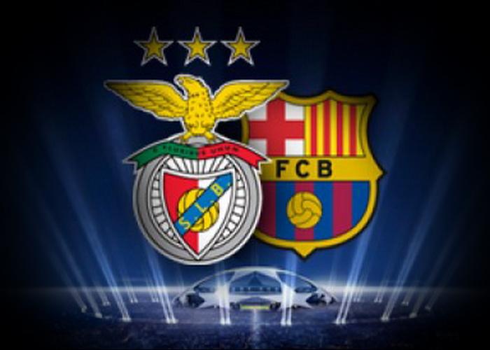 FC Barcelona beat SL Benfica - Football News
