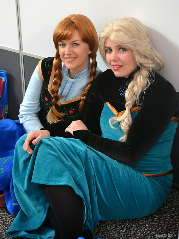 oz comic-con adelaide - do you wanna build a snowman