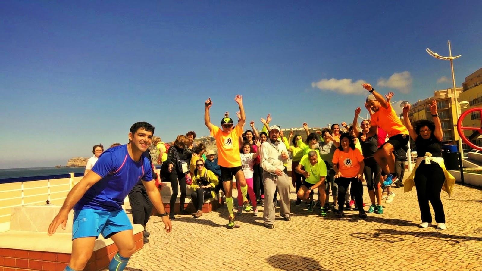 Dia Mundial da Actividade Física e Saúde - Nazaré - Portugal