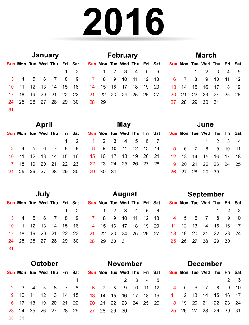 with NZ Holidays, 2016 Monthly Calendar Template, nz calendar 2016 ...