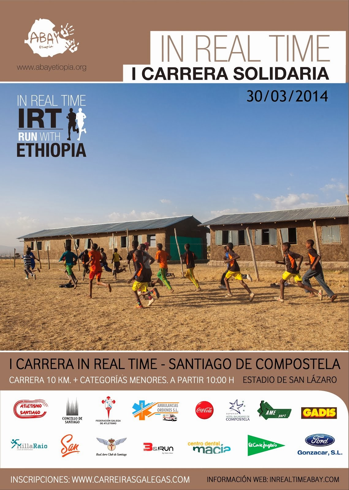 I Carrera In real time-run with Ethiopia