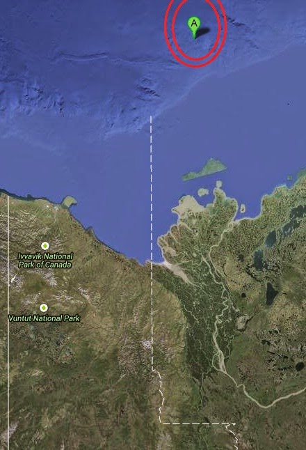 Magnitude 3.5 Earthquake of Tuktoyaktuk, Canada 2014-10-13