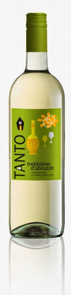 vino bianco trebbiano packaging tanto design label etichette bottiglia italia marketing