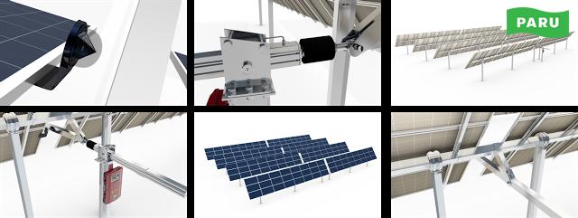 [PARU Solar Tracker] Single Axis Tracker 03