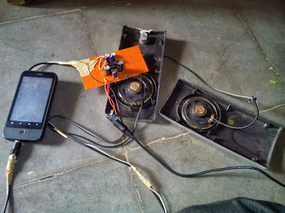 stereo speakrs project