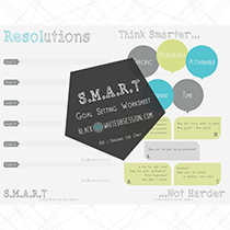 S.M.A.R.T. Goal Setting Worksheet Free Printable