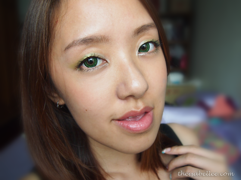 Eyemake with NARS Tropical Princess Duo Eyeshadow