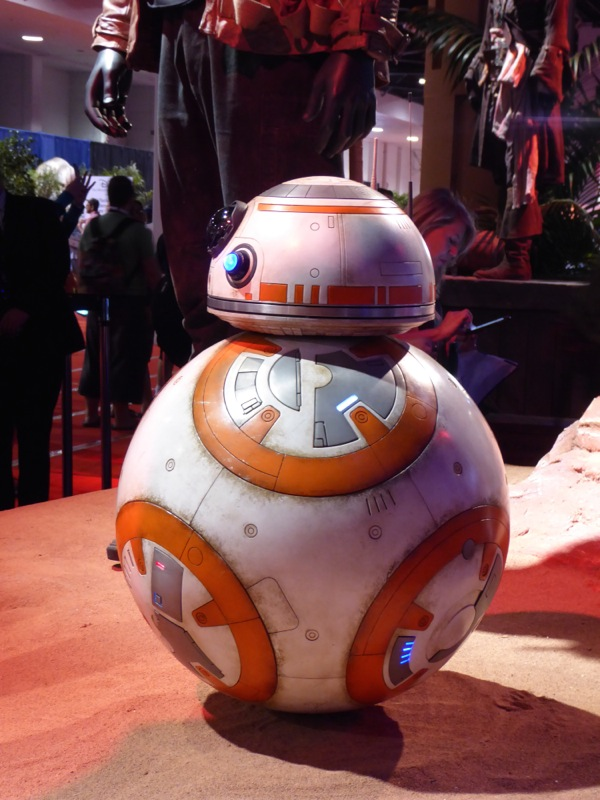 Star Wars The Force Awakens BB-8 droid prop