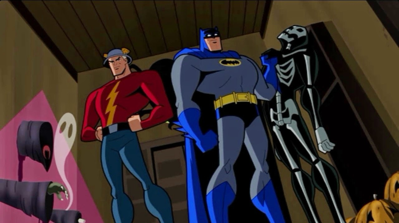 Holiday Film Reviews: Batman:The Brave And The Bold ...