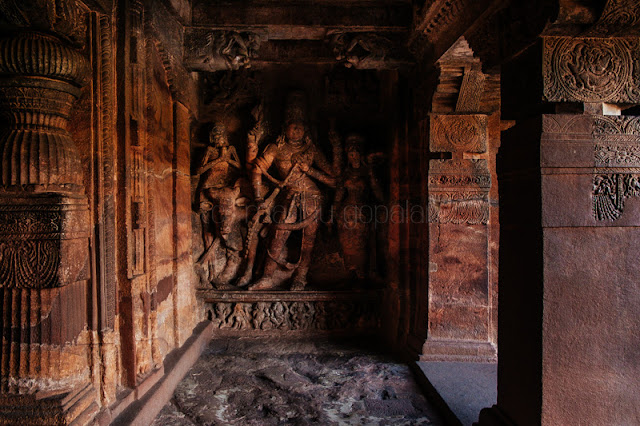 Cave dedicated to Shiva, Badami