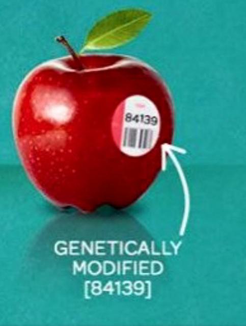 مامعنى الملصقات والأرقام التي تكون على الفواكه ؟