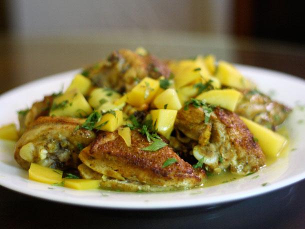 BEAUTIFUL LIFE: Dinner Tonight: Pan-Fried Mango Chicken