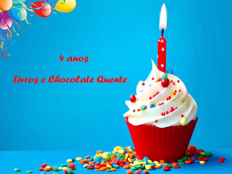 Sorteio Aniversário Livros e Chocolate Quente