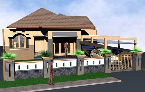 Galeri ide Model Pagar Rumah Minimalis Terbaru 2015 yang keren