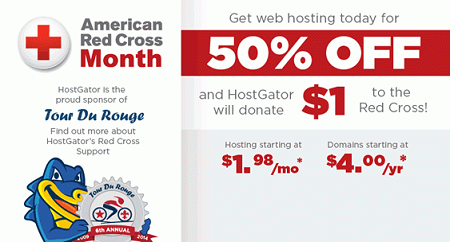 Hosting Plan only $ 14.92 / 6 months ~ $ 2.49 / month, down to 75% at HostGator