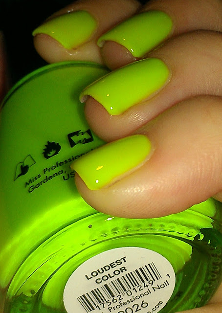 Sation Loudest Color, Miss Professional Nail