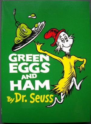 La Dama Cooks: Green Eggs and Ham