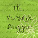 My Versatile Blogger Award