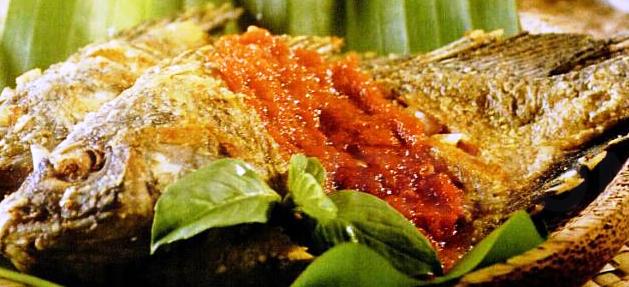 Resep dan Cara Memasak Ikan Mujaer Sambel Kemangi Lezat