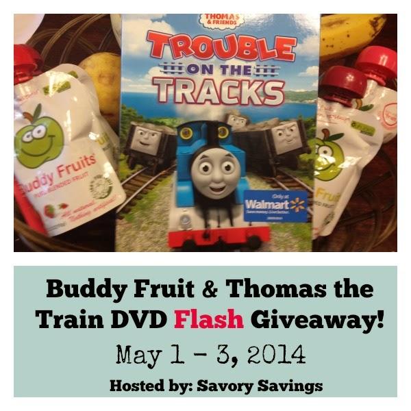 Buddy Fruit & Thomas Giveaway