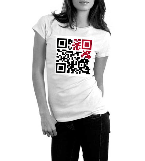 QR-CODE_ T恤 T-SHIRTS