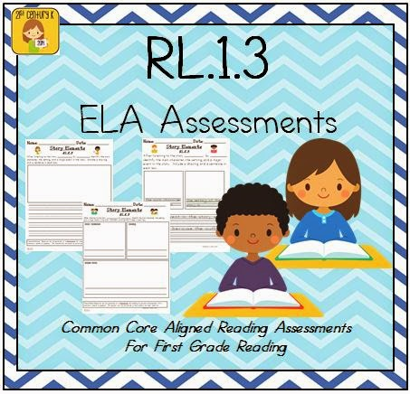 http://www.teacherspayteachers.com/Product/First-Grade-Reading-Extended-Response-Set-1RL3-1496120