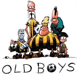 Gamle fodboldspillere