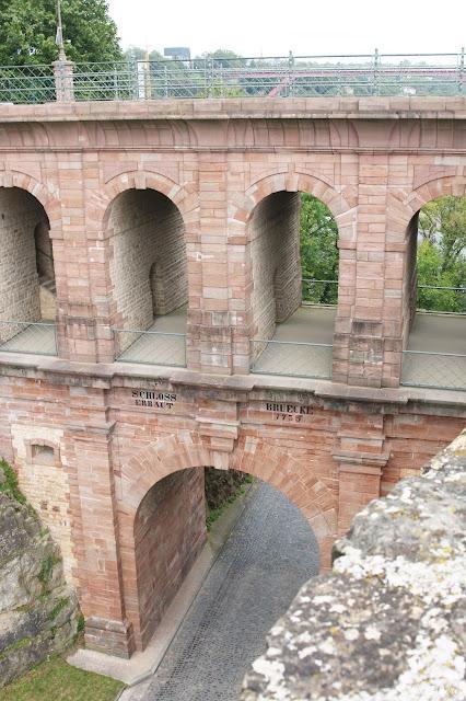 Stadtlandeltern - Luxembourg - Stadt - Kasematten - Brücke