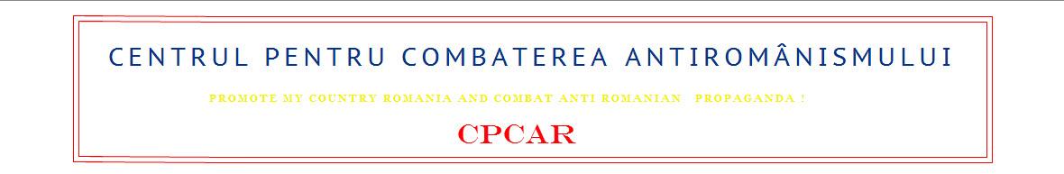 Centrul Pentru Combaterea Antiromânismului - Blog Oficial