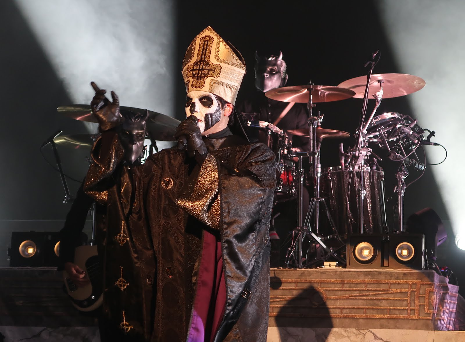 Glacially Musical Concert Review Ghost At The Pageant In