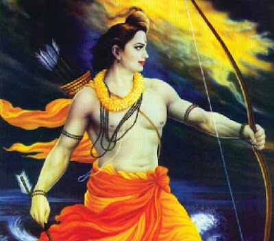 Worshiping Lord Rama