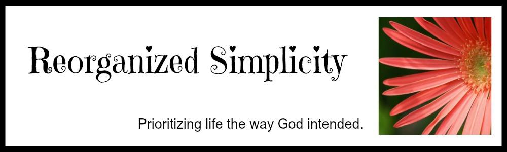 Reorganized Simplicity