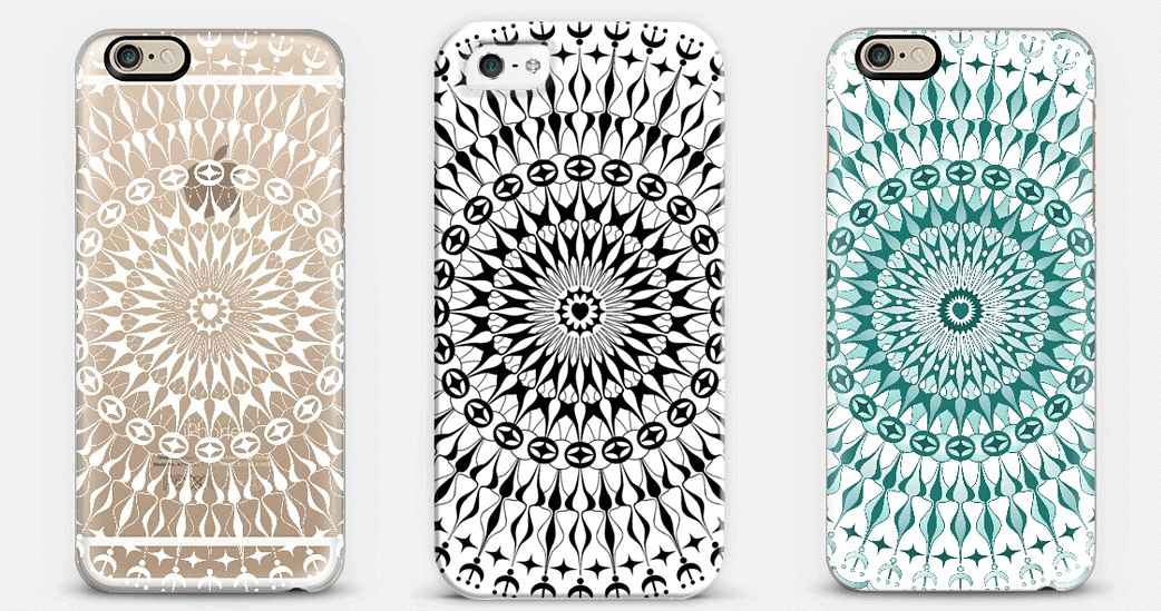 simple geometric patterns to draw