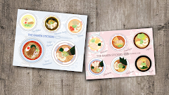 THE RAMEN STICKER SHEET