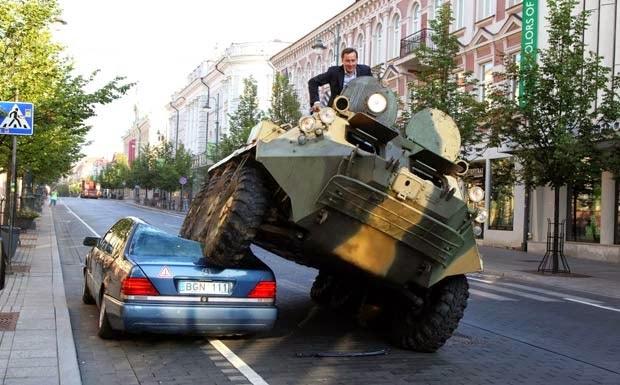 Incríveis Acidentes de Carros na Russia