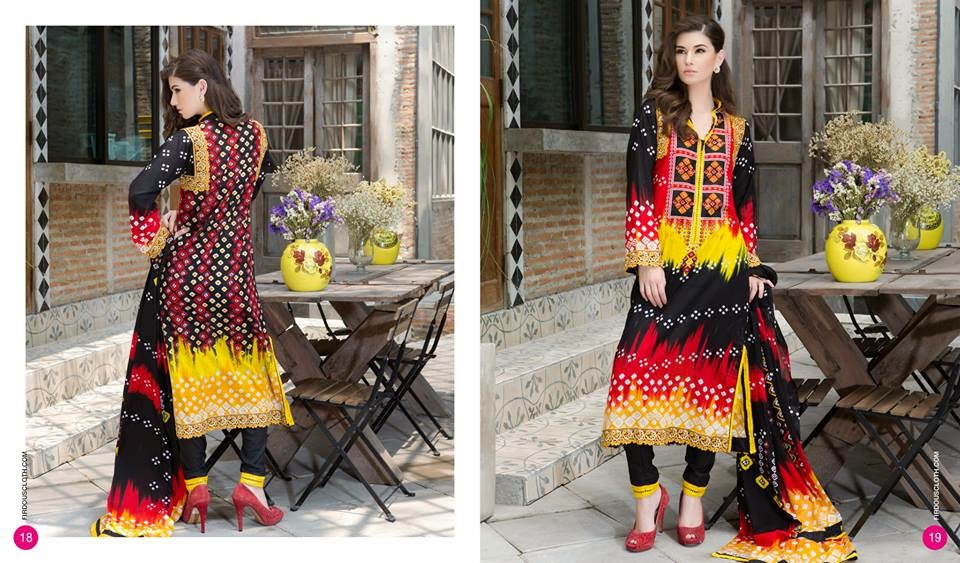 Firdous summer casual lawn collection