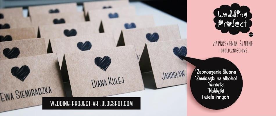 Wedding Project - zaproszenia ślubne , okolicznościowe , Zaproszenia na Ślub, Namysłów