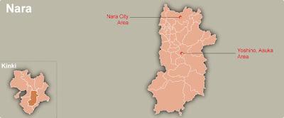 Nara Map Regional City