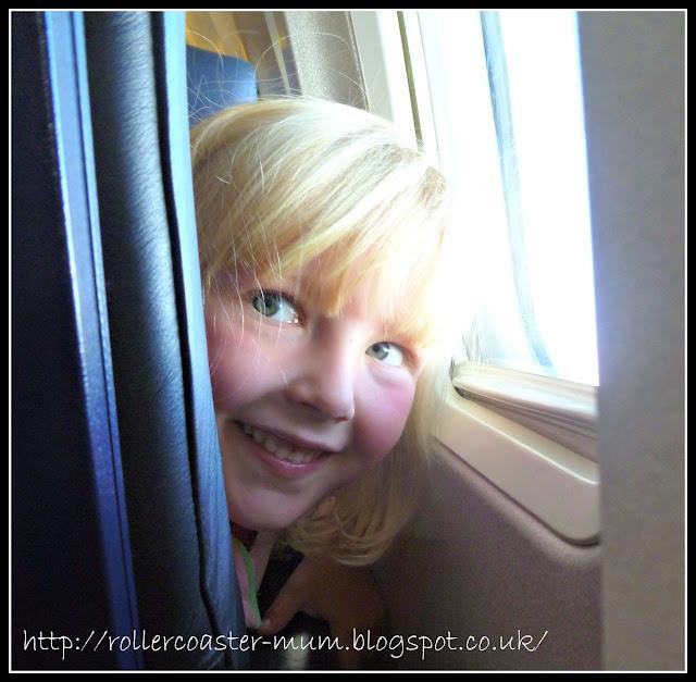 on an aeroplane