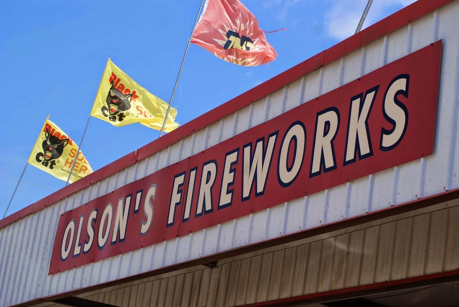Olson's Fireworks Alexandria Louisiana