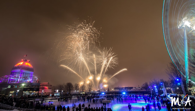 2017 - Feux sur Glace Natrel - Royal Pyrotechnie